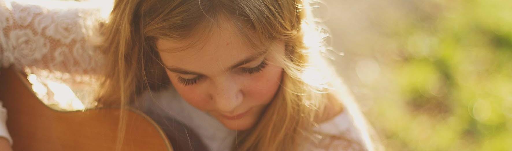 Tienerfotosessie in heerlijk licht
