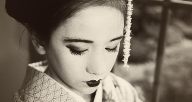 Geisha portraitphotography styled